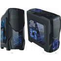 Wentylator LED GAMING 12cm 2 kolory, 4pin Molex FV