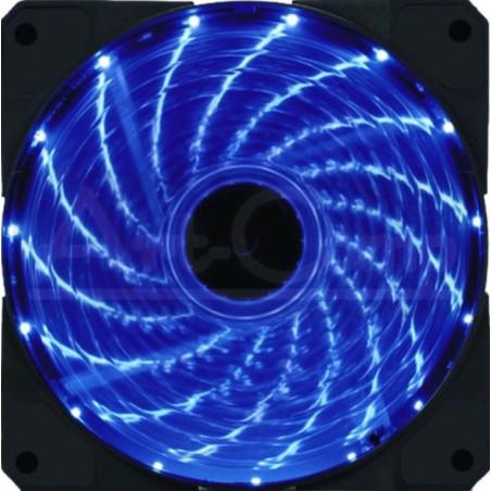 Cichy Wentylator LED 12cm 3...