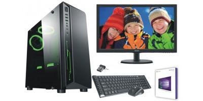 Zestawy PC z monitorem